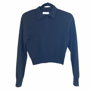 Oak and Fort Cropped Sweater